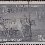 India on First World Agriculture Fair 1959