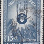 India on Freedom from Hunger 1963
