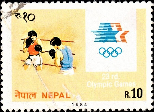 Games of the XXIII Olympiad : Boxing