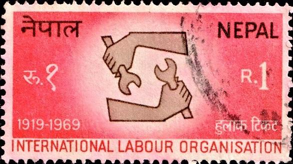 International Labour Organization (I.L.O.) Emblem