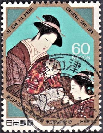 Folkways in Twelve Months (Detail) : Katsukawa Shunshō