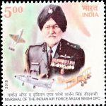 Marshal of the Indian Air Force Arjan Singh DFC