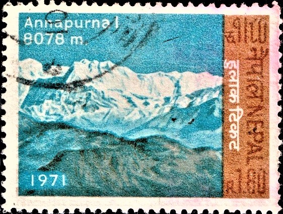 Annapurna Massif : tenth highest mountain in the world
