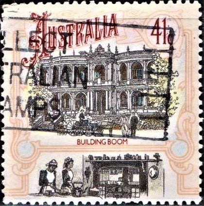 Victorian Building of British Australia