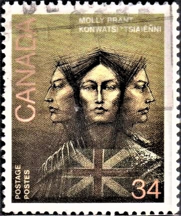 The Three Faces of Molly Brant : Iroquois, European, Loyalist